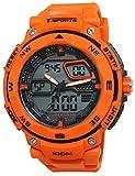 CREPHA腕時計t-sportsアナログとデジタル表示10気圧防水オレンジaz-ts-ad047-orメンズ
