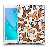 Head Case Designs ハンガリアン・ビズラ ドッグブリード・パターン 3 Samsung Galaxy Tab A 9.7 専用ソフトジェルケース