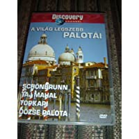 A világ legszebb palotái (DVD) - Great Palaces of The World by Discovery Channel / Schönbraunn, Taj Mahal, Topkapi, Dózse palota / Audio: English, Hungarian PAL Region 2 / 104 Min
