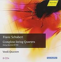 シューベルト:弦楽四重奏曲全集 / ヴェルディ四重奏団 (Schubert : Complete String Quartets / Verdi Quartet) (8CD) [Box Set]