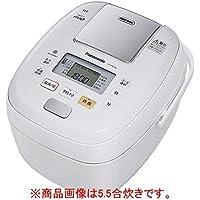 パナソニック 1升 炊飯器 圧力IH式 おどり炊き ホワイト SR-PB186-W