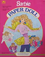 Barbie Paper Doll Book w Wedding, Skating, Western & More Fun Fashions (1990)