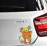 リラックマ シリーズ ビニール デカール カー ステッカー (No.02) [並行輸入品]