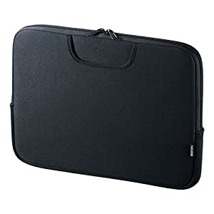 サンワサプライ ポケット付きインナーケース(13.3型ワイド) IN-WETP13BK