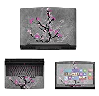 Decalrus - Protective Decal Skin skins Sticker for 2016 Alienware 17 R4 with G Sync (17.3 Screen) case cover wrap AL2016alienware17-34