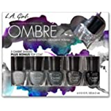 (3 Pack) L.A. GIRL Ombre Limited Edition Gradient Polish Set - Midnite (並行輸入品)