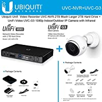 Ubiquiti Unifiビデオカメラuvc-nvr + Unifi IPカメラuvc-g31080p