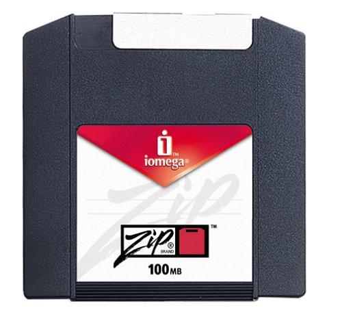 Iomega Zip 100MBディスクMacフォーマット( 10個パック...