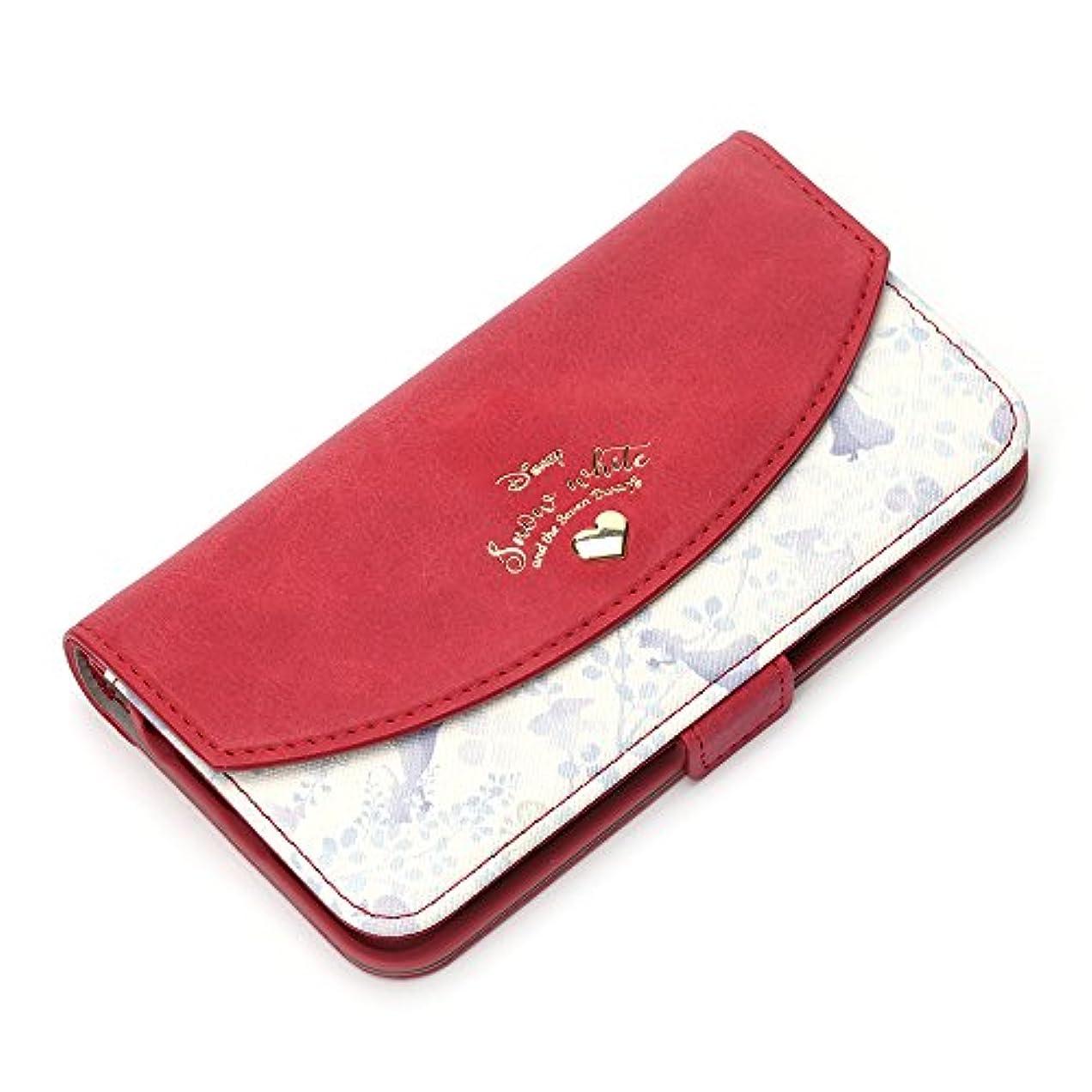ラジカル慣れるステップPGA iPhone 8/7/6s/6用 Disney series ダブルフリップカバー(白雪姫) PG-DFP393SWH