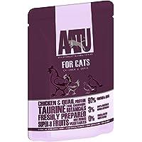 AATU アートゥー キャット チキン&ウズラ 85g (キャットフード ウェット 猫用総合栄養食) 全猫種成猫