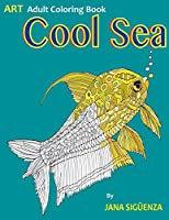 Cool Sea: Adult Coloring Book