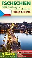 Tschechien Uebersichtskarte CZ 444: Planen & Touren - Boehmen, Maehren und Sudetenschlesien