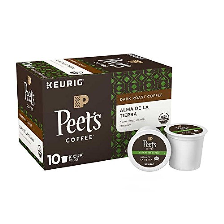 Peet's Coffee Alma De La Tierra K-Cup ピートのコーヒー アルマデラティエラオーガニック Kカップポッド60杯分 [並行輸入品]