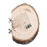鳥のための木製プラットホーム檻のためのペットのオウムの鳥円形の木製コインプラットフォーム、大きなサイズ