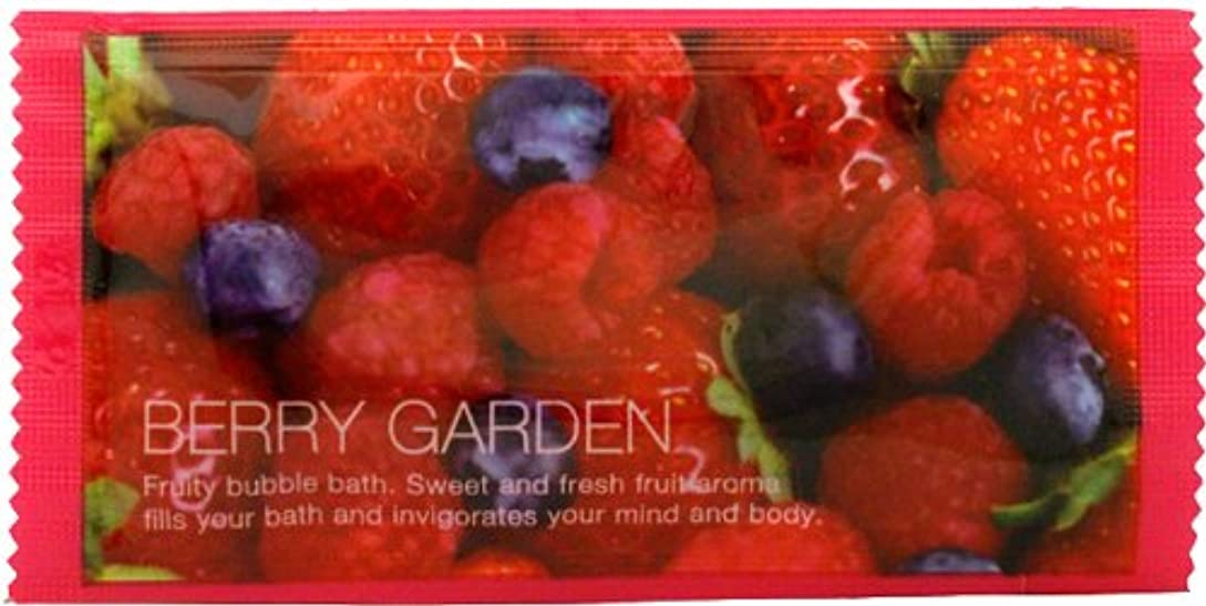 付き添い人禁輸置くためにパックフルーツバブルバス ベリーの香り 1P 12ml