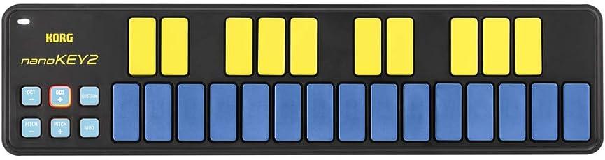KORG USB MIDIキーボード NANOKEY2 25鍵 ブルー&イエロー