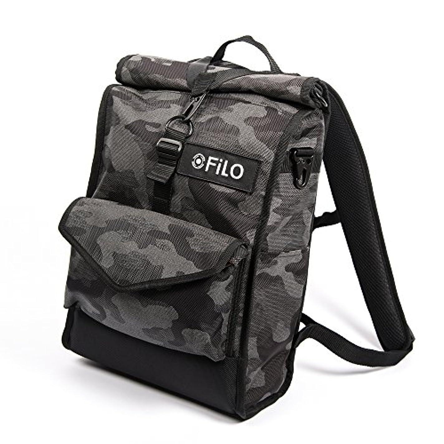 鉱夫教育者シュートFILO DESIGN (フィロ デザイン) カモフラージュバックパック