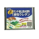 日本特殊塗料 ベランダ・屋上防水塗料一液ウレタン プルーフロン C-200 グレー 10Kg