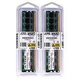 4GBキット2x 2GB eMachines ELデスクトップel1200el1210el1210–09el1210–11el1300g-01W el1300g-02W el1321el1331–03el1333–11F el1333g-01W DIMM ddr2Non - ECC pc2–6400800MHz RAMメモリ純正A - Techブランド