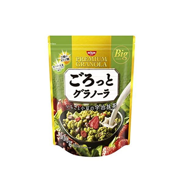 日清シスコ ごろっとグラノーラいちごと小豆の宇治...の商品画像