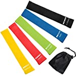 Newdora Resistance Loop Exercise Bands Set of 5 - Best Home Gym Fitness Exercise Bands for Legs, Glutes, Crossfit Workout...