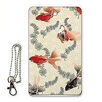 ICカード用パスケース 定期入れ デザイン 和柄 金魚