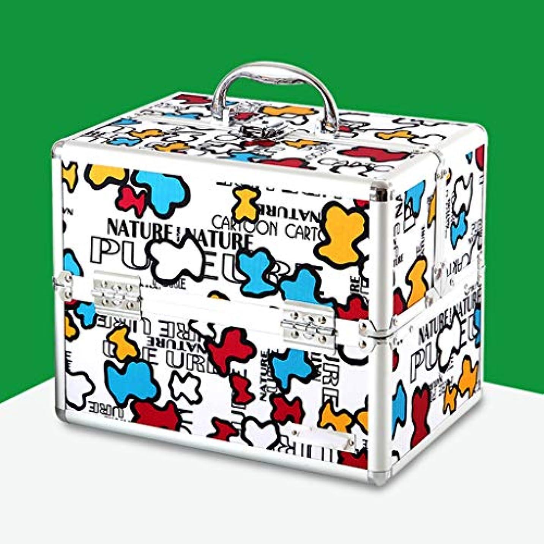 プレビスサイト不可能なスリンク漫画薬箱家庭薬箱多層薬箱ポータブル救急箱薬収納ボックス GBYGDQ (Color : B)