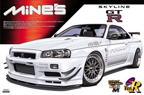 1/24 Sパッケージ バージョンR No.45 マインズ R34 スカイラインGT-R