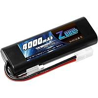 ゼエエ Zeee 2S 7.4V 4000mAh 50C TAMIYAプラグ付き リポバッテリー 大容量バッテリー ラジ…