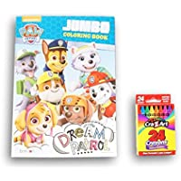 Paw Patrol Coloring Book with cra-z-artクレヨン