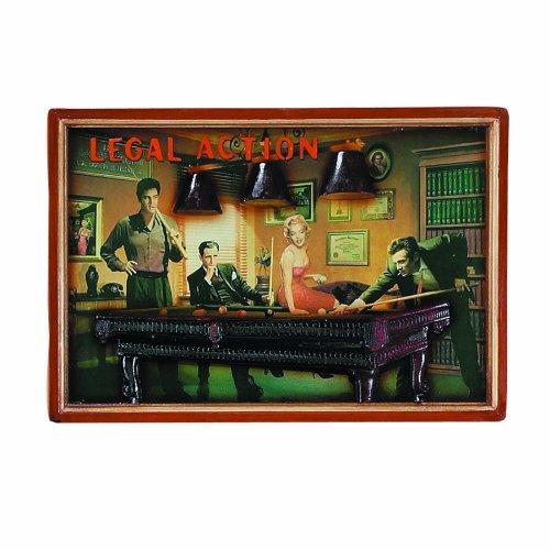 "RAM Gameroom製品パブサイン、「Legal Action """