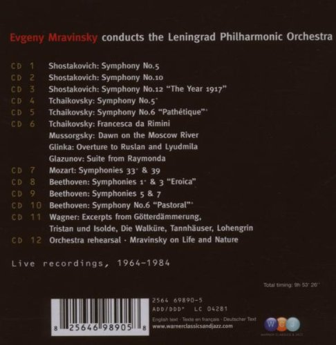 Mravinsky Edition