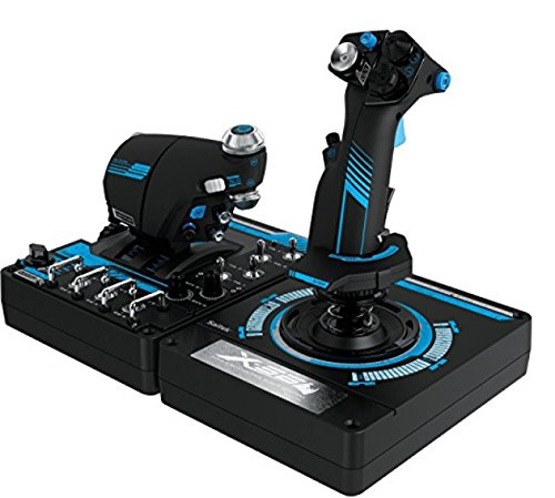 Saitek Pro X-56 Rhino H.O.T.A.S.フライトコントローラー for PC [並行輸入品]