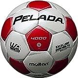 molten(モルテン) ペレーダ4000 [ Pelada4000 ] EXCELLENT DURABILITY F5P4000-WR 白+赤 5号球