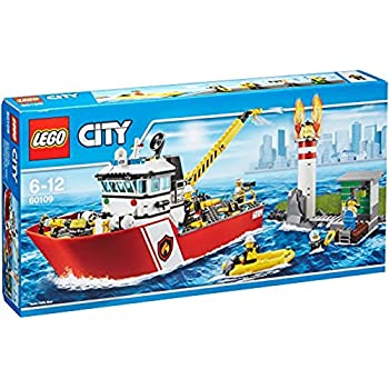 レゴ (LEGO) シティ 消防ボート 60109
