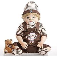 SanyDoll Rebornベビー人形ソフトSilicone 22インチ55 cm磁気Lovely LifelikeキュートかわいいベビーHolidayギフト趣味コレクション