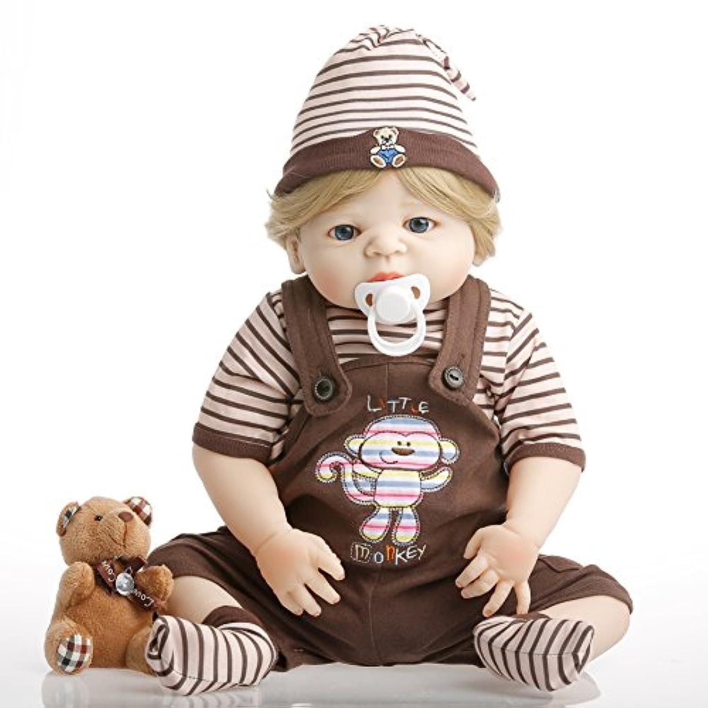 NPK collection Rebornベビー人形リアルな赤ちゃん人形ビニールシリコン赤ちゃん22インチ55 cm誕生日プレゼント