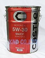 タクティー キャッスル キャッスル ガソリンエンジンオイル SN/CF GF-5 5W-30 08880-10703 入数:20L×1缶