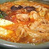 水郷のとりやさん 韓国風 キムチ チゲ鍋セット (肉とスープのセット)