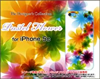 iPhone5c TPUソフトケース Pastel Flower type001