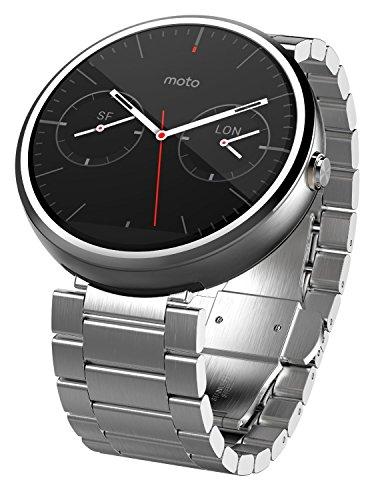 モトローラ Moto 360 Smart Watch スマートウォッチ 腕時...