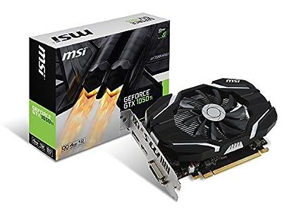 MSI GeForce GTX 1050 Ti 4G OC グラフィックスボード VD6191