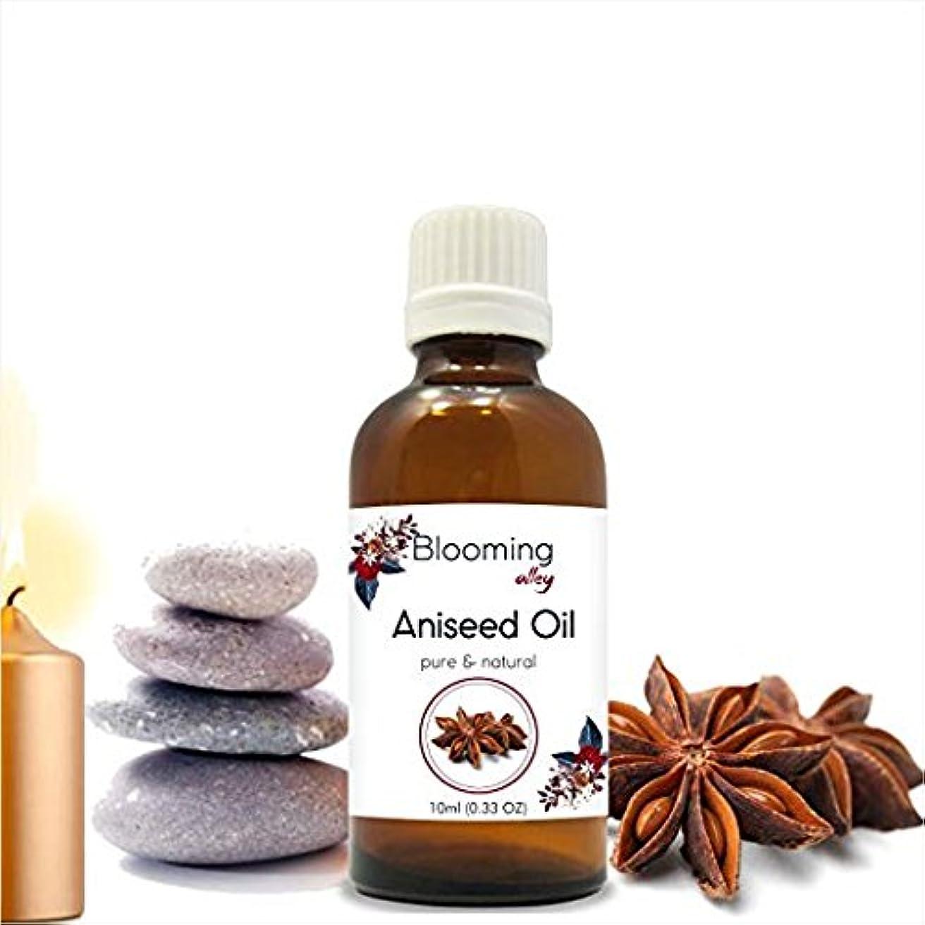 祝福する接触必須Aniseed Essential Oil (Pimpinella anisum) 10 ML