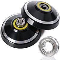 New MAGICYOYO&Yostyle Silencer M001-B Yo-yo Ball Aluminum6061 Unresponsive Yo-yo with Stainless Center Bearing and Stainless Axle (M001B Black) [並行輸入品]