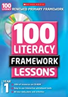100 New Literacy Framework Lessons for Year 1 with CD-Rom (100 Literacy Framework Lessons)