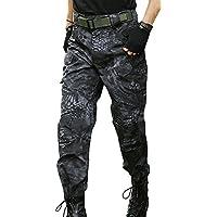 (ガン フリーク) GUN FREAK タクティカルパンツ ハニカム迷彩 コンバット パンツ ミリタリー サバゲー (タイフォン ブラック (ボタン), 32)
