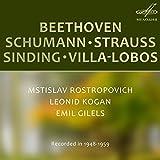 Beethoven, Schumann, Strauss, Sinding, Villa-Lobos: Chamber Music