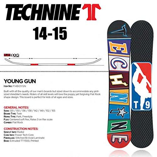 テックナイン 板 14-15 YOUNG GUN T9  TECHNINE 14-15 スノーボード 日本正規品 138cm