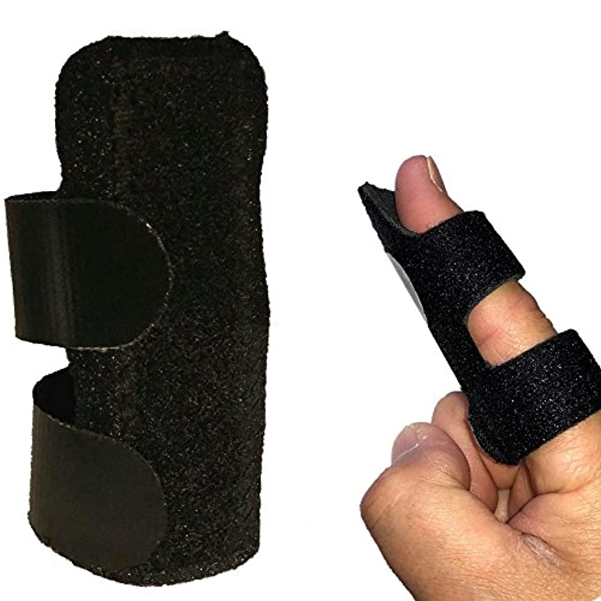 病者整理する対応する指サポーター 突き指 腱鞘炎 ばね指 関節痛 小指 薬指 親指 人差し指 手 固定 サポーター バスケ バレー 学生 大人 フリーサイズ