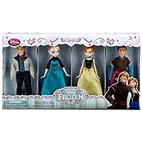 アナと雪の女王 人形 Disney Frozen Exclusive Mini Doll Set [Kristoff, Anna, Elsa, Hans]  並行輸入